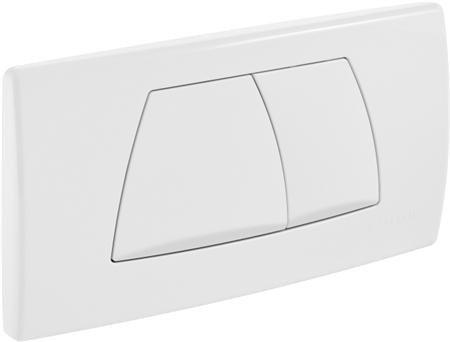 GEBERIT Twinline bedieningspaneel twee knops kleur wit