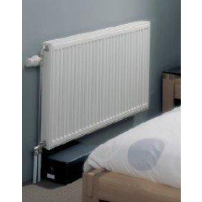 Henrad Compact radiator 700 x 1100 type 22 - 2157 watt 75/65/20¡C kleur RAL 9016