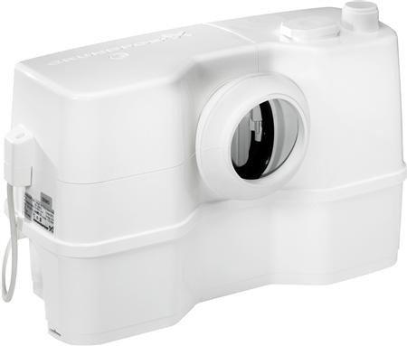 Grundfoss Sanitairpomp met 1 extra inlaat voor aansluiting toilet en wastafel -