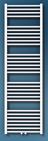 Vasco BATHLINE BB handdoekradiator 600 x 1714 (bxh) (970 watt 75/65)  kleur Ral 9016