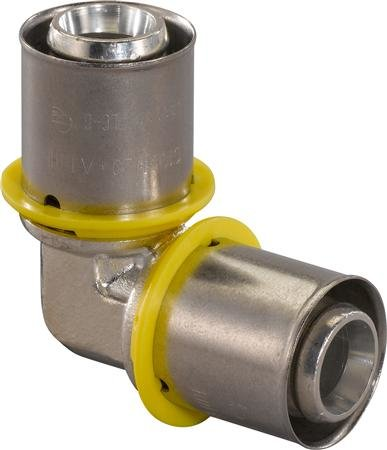 Uponor knie 25 x 25 mm voor GAS