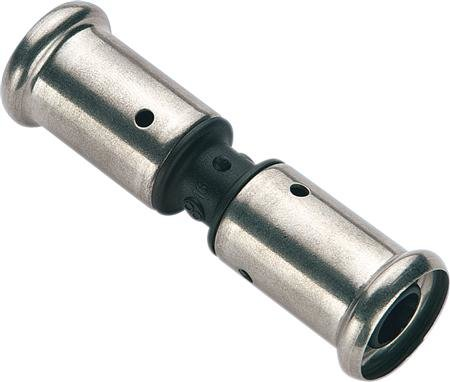 Henco perskoppeling - rechte koppeling 32 x 32 mm
