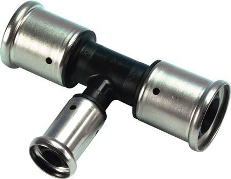 Henco perskoppeling - T Stuk - kunststof 26 x 16 x 26 mm