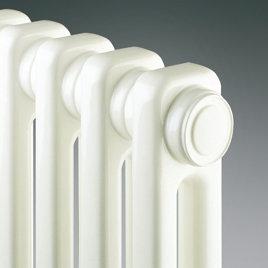 Radson Delta H 400 hoog x 1300 breed x 63 mm diep 2 kolom (848 watt) 26 elementen