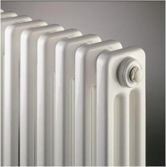 Radson Delta H 400 hoog x 1100 breed x 101 mm diep 3 kolom (1001 watt) 22 elementen