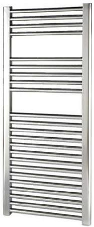 Thermrad Basic-4 design handdoek radiator 1172 x 600 (551 / 436 watt) Chroom