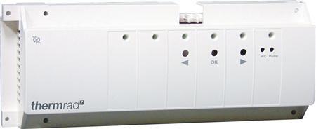 Thermrad RF aansluit module 230 volt voor vloerverwarming, 6 zones (draadloos)
