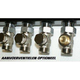 Top-Flow Aanvoer afsluit ventielen, voor afsluiten en of inregelen per groep