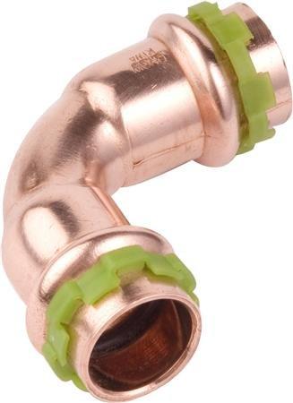 VSH Sudopress koper bocht koppeling 15 mm koper 2 x mof (6670103)