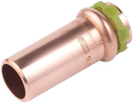 VSH Sudopress koper, rechte insteekverloop koppeling 15 x 12 mm  mof x spie (6670950)
