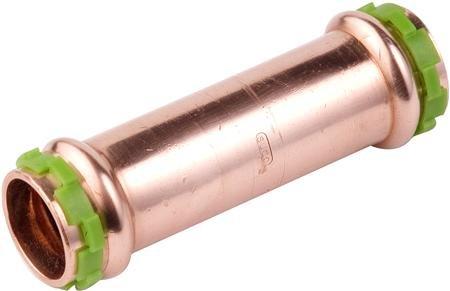 VSH Sudopress koper, rechte koppeling 35 mm Overschuif mof (6671225)