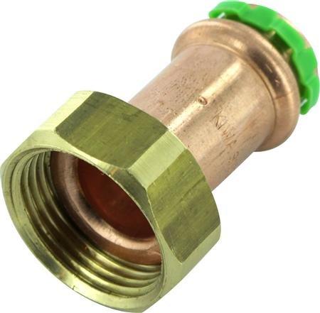 VSH Sudopress koper rechte koppeling 22 mm pers x 1