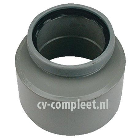 PVC manchet inzetverloop 110 x 125 mm Mof/Spie
