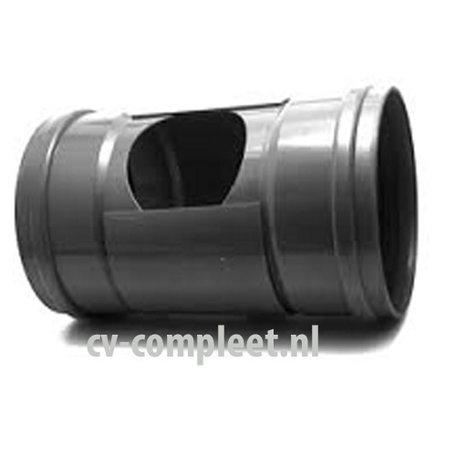 PVC Ontstoppingstuk met schuifkap- 315 mm 2 x mof manchet verbinding