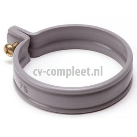 PVC Beugel 100 mm HWA