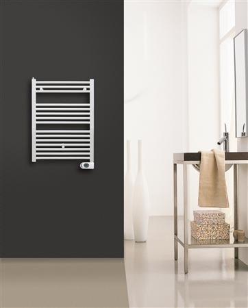 Solar Plus elektrische handdoekradiator 776 x 500 mm (hxb) (400 watt) kleur Ral 9016