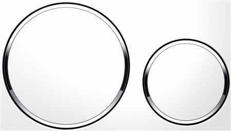 GEBERIT Sigma 20 bedieningspaneel twee knops kleur wit/glans/wit