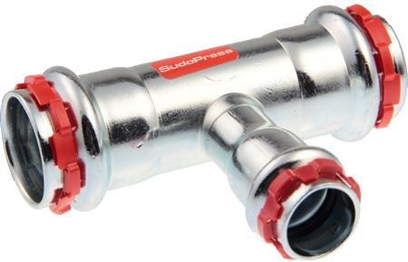 VSH Sudopress T-STUK 35 x 22 x 35 mm staal (pers x pers x pers)