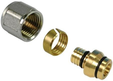 Henco schroef koppeling 14 x 15 mm voor in een klemkoppeling