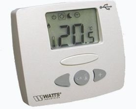 Watts  kamerthermostaat Basic LCD bus (900004870)
