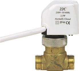 Watts  electro thermische motor 24 volt NC2 - 1meter draad (800000212)