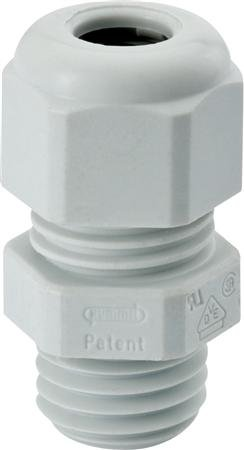 Hummel Hsk-k kabelwartel M20 - kabel diameter 6 tot 12 mm - kunststof kleur grijs