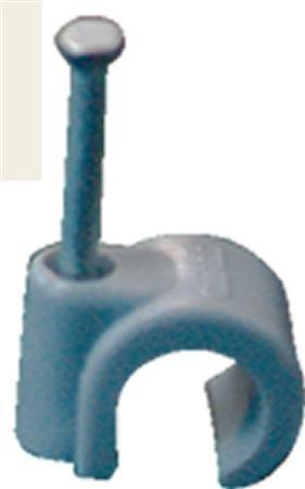 Mepac Spijkerclip 11/15 mm grijs ,  doos á 100 stuks