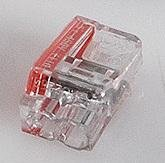Transparante mini lasklem 2 voudig - doos á 50 stuks
