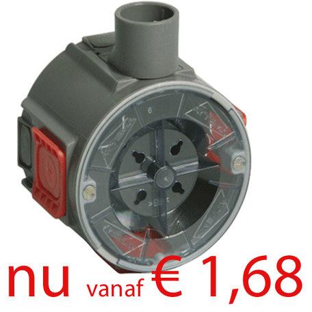 Attema inbouwdoos U40 - 16 mm - 40 mm