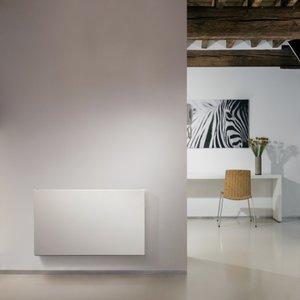 Vasco E-Panel H-FL elektrische radiator 600 hoog x 1000 breed - 1250 watt - kleur Ral 9016